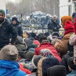 Des milliers de migrants se pressent à la frontière entre la Grèce et la Turquie depuis fin février. (Illustration)