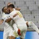 Payet a inscrit ses premiers buts en Ligue des champions contre l'Olympiakos. (ERIC GAILLARD/Reuters)