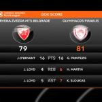 Georgios Printezis a donné une victoire in extremis à l'Olympiakos. (N. Luttiau/L'Équipe)