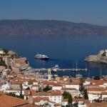 Proche d'Athènes, l'île d'Hydra attire les candidats aux «golden visas» grecs, qui permettent de voyager librement dans l'espace Schengen. Danil Shamkin/NurPhoto via AFP