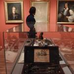 La pièce dédiée principalement à Lord Byron dans le musée d'Athènes consacré aux philhellènes, qui se sont battus pour l'indépendance de la Grèce. LOUISA GOULIAMAKI/AFP