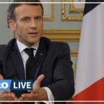 Emmanuel Macron à l'Élysée le 23 mars. BENOIT TESSIER / REUTERS