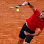 Stefanos Tsitsipas sera tête de série n°1 à Lyon. (G.Mangiapane/Reuters)