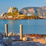 L'île de Kos, dans le Dodécanèse. La Grèce a établi des protocoles qui se veulent à la fois fiables et fluides pour circuler dans le pays. sborisov