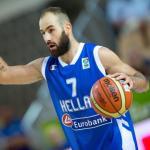 Vassilis Spanoulis, 38 ans, avait pris sa retraite internationale en 2015. (K. Velej/Presse Sports)