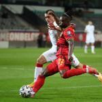 Doku compte 6 sélections avec la Belgique. (F.Abbeloos/Isosport/Presse Sports)