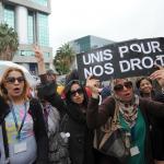 Malgré la dénonciation répétée des conditions de travail dans les centres d'appels Teleperformance (ici à Tunis en 2013), le management demeure problématique. PHOTO / FETHI BELAID / AFP