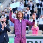 Stefanos Tsitsipas a perdu sa première finale en Grand Chelem. (P.Lahalle/L'Équipe)