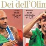 Première page du quotidien La Stampe du 2 août 2021.