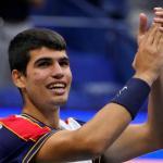 Carlos Alcaraz à l'US Open. (R.Deutsch/USA Today Sports)