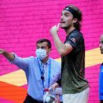 Stefanos Tsitsipas éliminé au troisième tour de l'US Open (Robert Deutsch/Usa today sports)