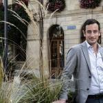 «Mon parcours est jalonné de succès sur des éléments très concrets qui aujourd'hui déploient des effets», déclare le candidat Vert Vassilis Venizelos — © Thierry Porchet