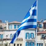 Le drapeau grec.
