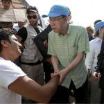 En visite sur l'île de Lesbos, Ban Ki-Moon a critiqué l'accord conclu entre l'UE et la Turquie, qui prévoit le renvoi des migrants arrivés illégalement.