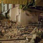 Les dégâts causés par le séisme sur des images diffusées sur les réseaux sociaux. Crédits photo : SOCIAL MEDIA/REUTERS