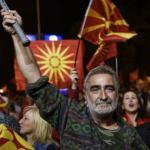 """Plus de 90% des électeurs ayant participé au référendum dimanche ont accepté que leur pays devienne la """"République de Macédoine du nord"""".@ AFP"""