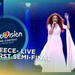 Yianna Terzi - Oniro Mou - Greece - LIVE - First Semi-Final - Eurovision 2018