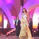 Marietta Chrousalas sur le plateau de la compétition