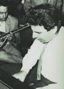 Théodorakis lors du premier enregistrement d'Epitaphios en 1960