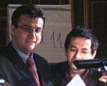 Anastassios Koutsoukos et Philippe Brunet