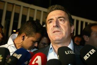 Michalis Chryssochoidis, ministre de la Protection du Citoyen.
