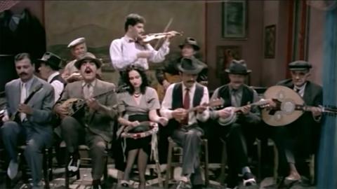 Scène du film « Rebetiko » de Kostas Ferris