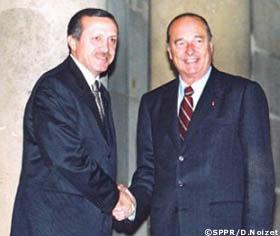 erdogan chirac