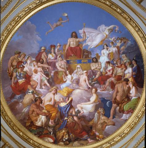 Le Concile des dieux de Luigi Sabatelli