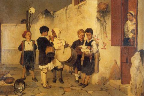 Νικηφόρος Λύτρας, Ο τυμπανιστής, 1872