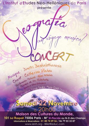 Geografia, un voyage musical (affiche)