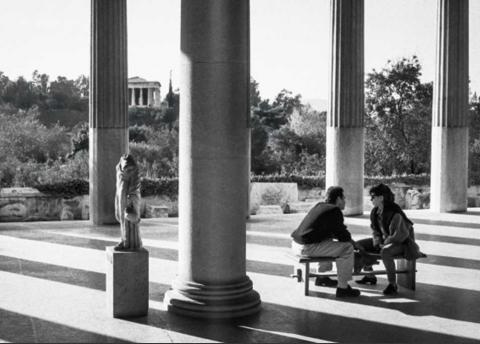 Athènes, photographie de Constantinos Pittas
