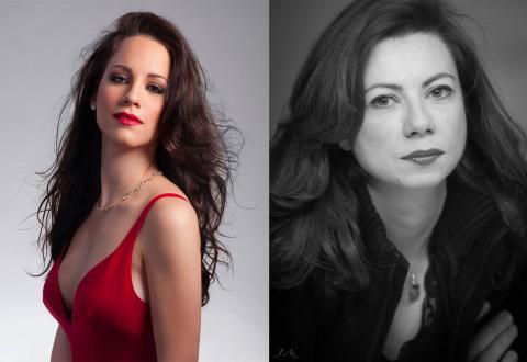 Christina Maria Tasiouka et Angélique Christaki