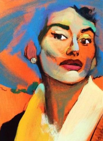 Maria Callas, par Anastasia-Zoé Souliotou