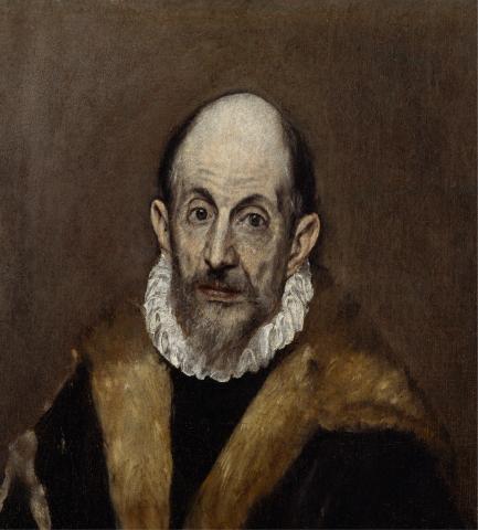 Autoportrait attribué à El Greco