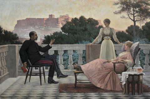 Jacques Rizo, Soirée athénienne, 1897