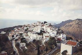 Nikeia vue du mont Aghios Ioannis le Théologue.