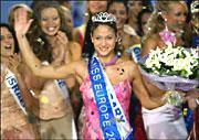 ...de la candidate hongroise qui emporta la fameuse couronne