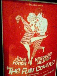 L'affiche de la comédie, «The Fun Couple», mise en scène par Andreas Voutsinas, en 1962, à New York.