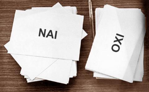 Référendum = Oui / Non