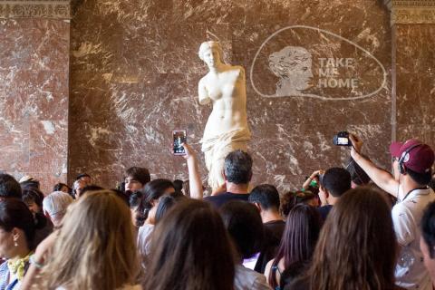La Vénus de Milo est parmi les principales attractions du musée du Louvre