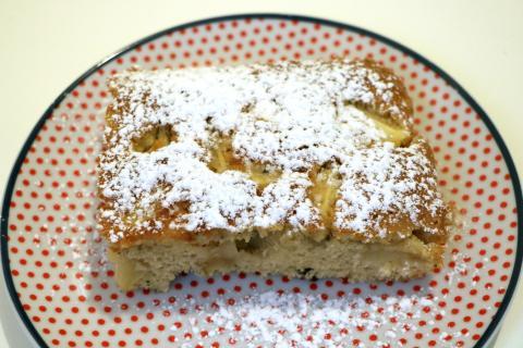 Milopita (Μηλόπιτα) façon cake aux pommes