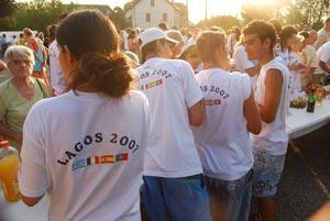 Jeunes grecs à Lagos