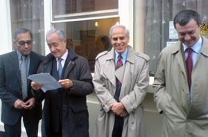 Tiberi, Parasevopoulos et Lecoq