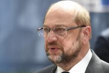 Le président du Parlement européen Martin Schulz. © Martin Bureau