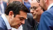 Pour les Grecs, la constitution d'un fonds pour les privatisation s'apparente à une hypothèque ou une saisie de salaire Crédits photo : Geert Vanden Wijngaert/AP
