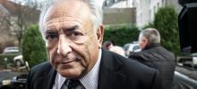 Dominique Strauss-Kahn à Lille, en février dernier. Crédits photo : PHILIPPE HUGUEN/AFP