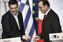 A l'occasion de sa rencontre, vendredi, avec Aléxis Tsípras, François Hollande mettra l'accent sur «les ressources de la Grèce pour sortir de la crise et prendre le chemin du redressement». - Photo REA