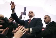 L'ancien premier ministre grec Georges Papandréou à Athènes le 3 janvier. |Petros Giannakouris / AP