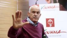 Le parti de l'ex-Premier ministre Georges Papandréou n'a obtenu que 2.6% des suffrages, échouant donc à passer le seuil de 3% nécessaire pour entrer au Parlement. Crédits photo : ALKIS KONSTANTINIDIS/REUTERS