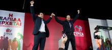 Pablo Iglesias, leader de Podemos en Espagne, se voit bien suivre la voie de Syriza.